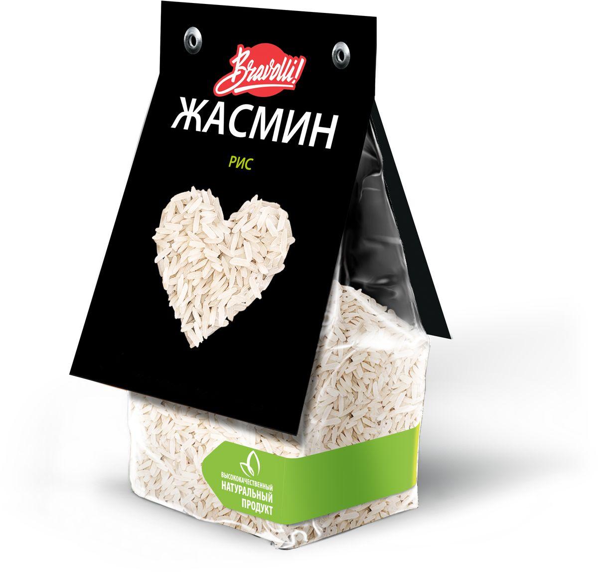 Bravolli Жасмин рис, 350 г0120710Рис Жасмин - белый длиннозерный рис, который обладает природным (натуральным) ароматом, напоминающим благоухание белого цветка жасмина.