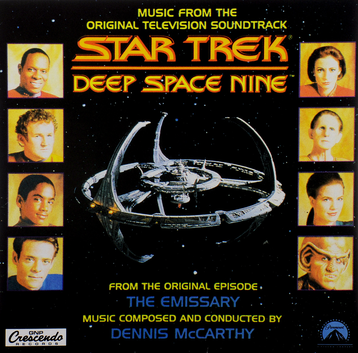 Star Trek. Deep Space Nine. Music From The Original Television Soundtrack (LP) the brooklyn nine