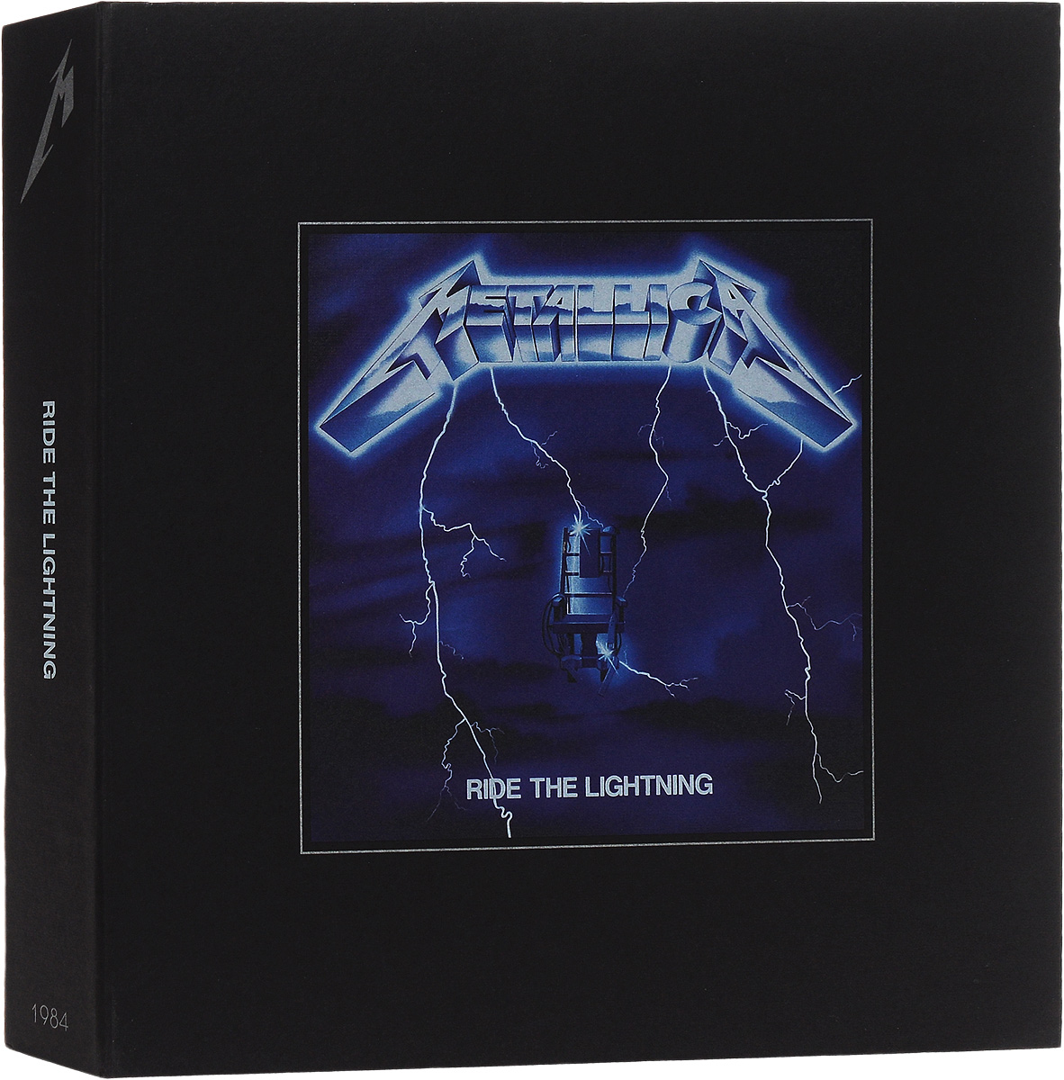 Metallica Metallica. Ride The Lightning (3 LP + 6 CD + DVD) футболка с полной запечаткой printio spaces