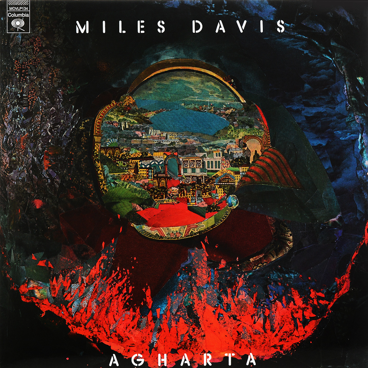 Майлз Дэвис DAVIS, MILES Agharta -Hq/Gatefold- 2LP виниловые пластинки haken the mountain 2lp cd gatefold