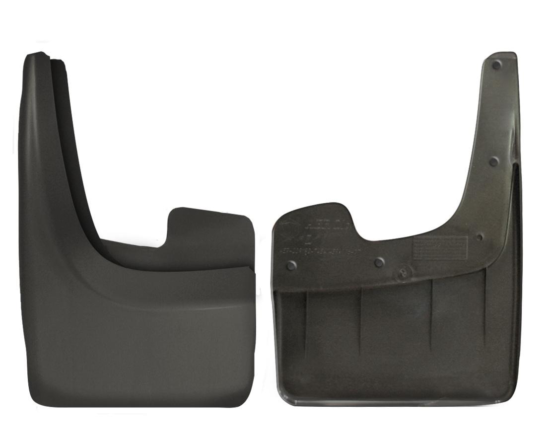Брызговик универсальный Триада Classic Midi, для джипов и минивэнов, цвет: черный, 2 штNLF.61.10.E13Универсальный брызговикдля джипов, минивэнов, пикапов, больших легковых автомобилей предохраняет кузов от грязи, защищает лакокрасочное покрытие в местах сочленения днища и крыльев, улучшает внешний вид машины. Рекомендуется к установке для замены старых брызговиков и для установки, если брызговиков не было при покупке. Сохраняет прочность и эластичность в диапазоне температур ±50С: не дубеет на морозе, сохраняет форму на жаре.Крепление: саморезы (6 шт). Подходит на переднюю и заднюю часть 95% автомобилей.Комплектация: правый, левый брызговики.