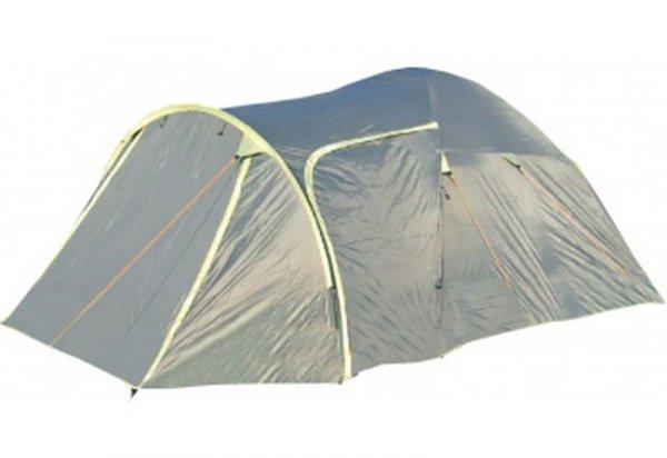 Палатка Campus Vail 4, цвет: зеленый, желтый1301210Общие характеристикиНазначение: ТуризмВнутренняя палатка: ЕстьКоличество мест: 4Тип установки каркаса: ВнутреннийГеометрия: ПолусфераКонструкцияКоличество комнат: 1Количество входов во внутреннею палатку: 2Возможность крепления фонарика: ЕстьВентиляционные окна: ЕстьНавес: НетЗащитаВодонепроницаемость тента: 3000мм. водяного столбаВодонепроницаемость дна: 10000мм. водяного столбаГерметизация швов: ЕстьВетрозащитная/снегозащитная юбка: НетМоскитные сетки: ЕстьЗащита от ультрафиолета: ЕстьМатериалыМатериал дуг: ФибергласМатериал внутренней палатки: «дышащий» полиэстерМатериал дна: Армированный полиэтиленМатериал тента: Poliester 190 TГабариты и весВес: 6.45кгРазмеры внутренней палатки ширина: 234смРазмеры внутренней палатки длина: 204смРазмеры внутренней палатки высота: 125смРазмеры внешней палатки ширина: 250смРазмеры внешней палатки длина: 435смРазмеры внешней палатки высота: 135см