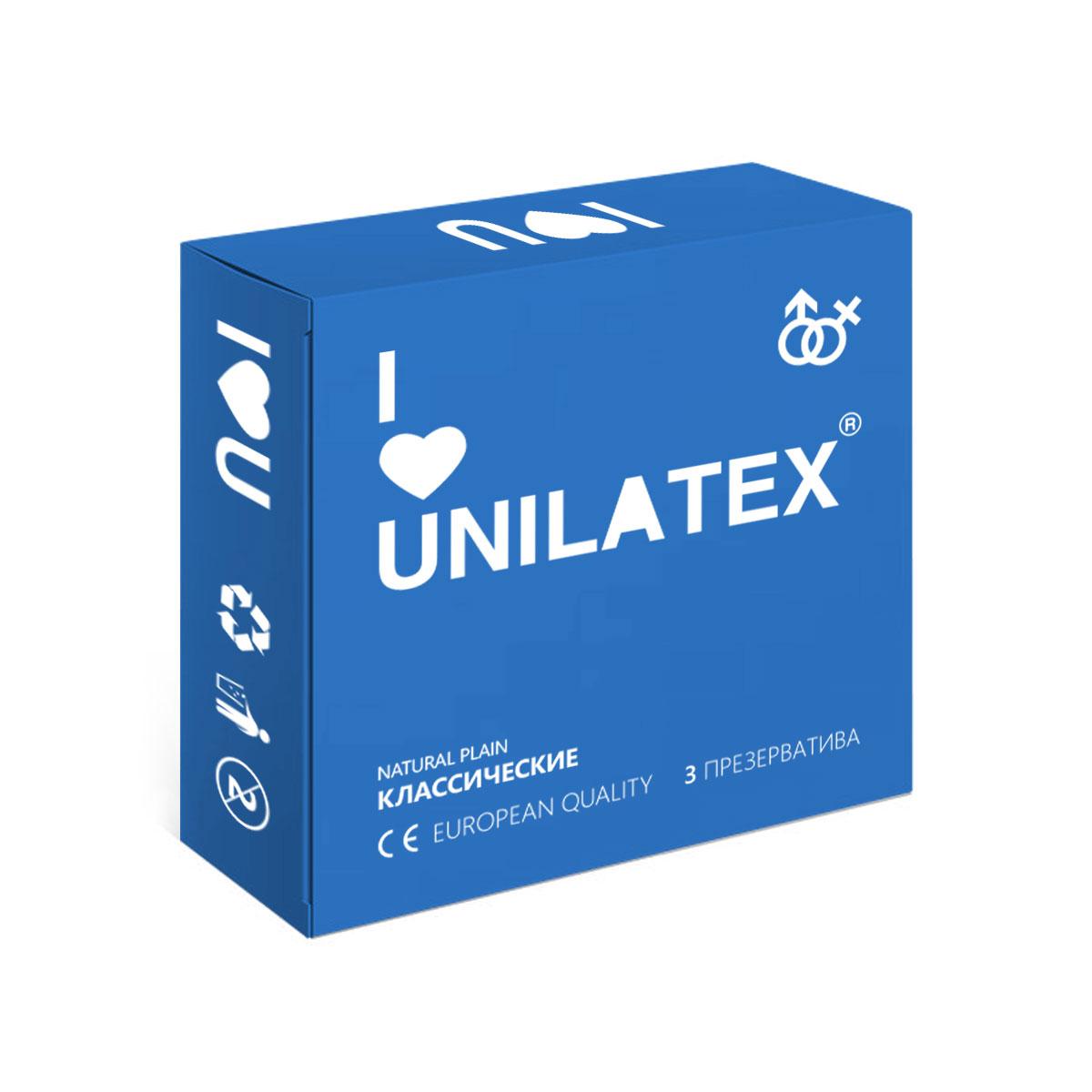 Презервативы Unilatex Natural Plain, 3 штSatin Hair 7 BR730MNКлассические презервативы из натурального латекса телесного цвета, гладкой поверхностью, покрыты силиконовой смазкой с нейтральным ароматом.