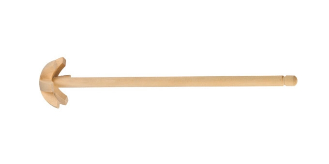 Венчик Tescoma Woody, длина 28 см54 009312Венчик Tescoma Woody, выполненный из кленовой древесины, отлично подходит для интенсивного взбивания сливок, яиц, теста, кремов и соусов. Подходит для посуды с антипригарным покрытием. Венчик удобно ложиться в руке и делает процесс взбивания легким.Практичный и удобный венчик Tescoma Woody займет достойное место среди аксессуаров на вашей кухне.Длина венчика: 28 см.