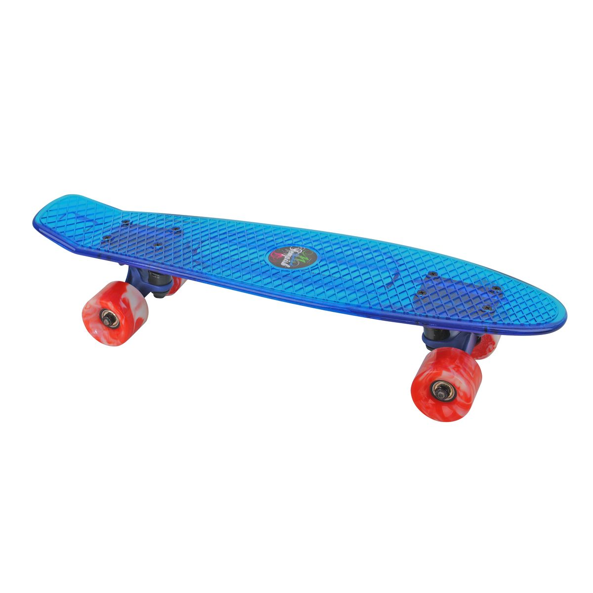 Скейтборд пластиковый Tempish Retro Buffy Star, цвет: голубойMHDR2G/AПени борд Tempish Buffy нагрузка до 100 кг