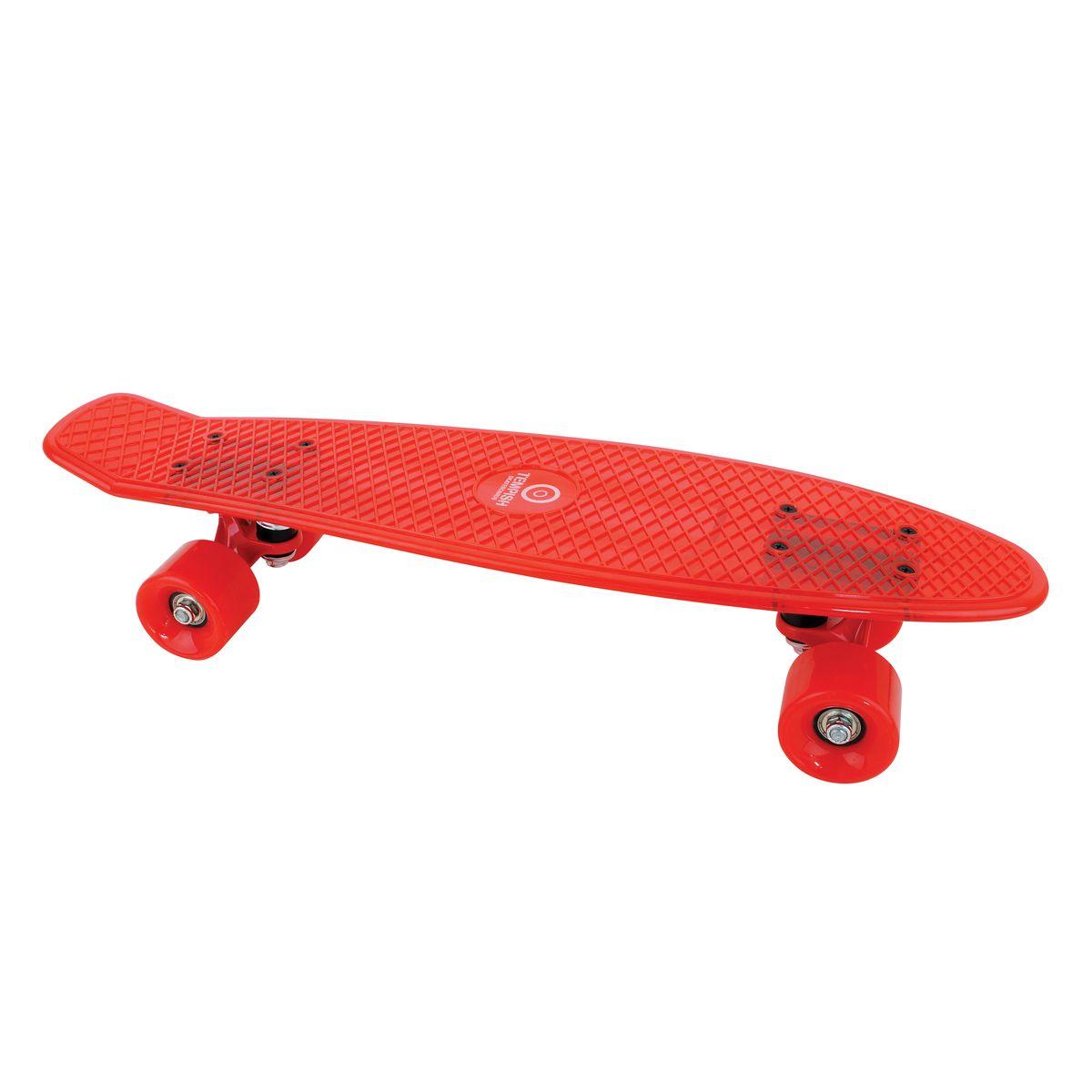 Скейтборд пластиковый Tempish Buffy Star, цвет: красныйRUC-01Пени борд Tempish Buffy нагрузка до 100 кг