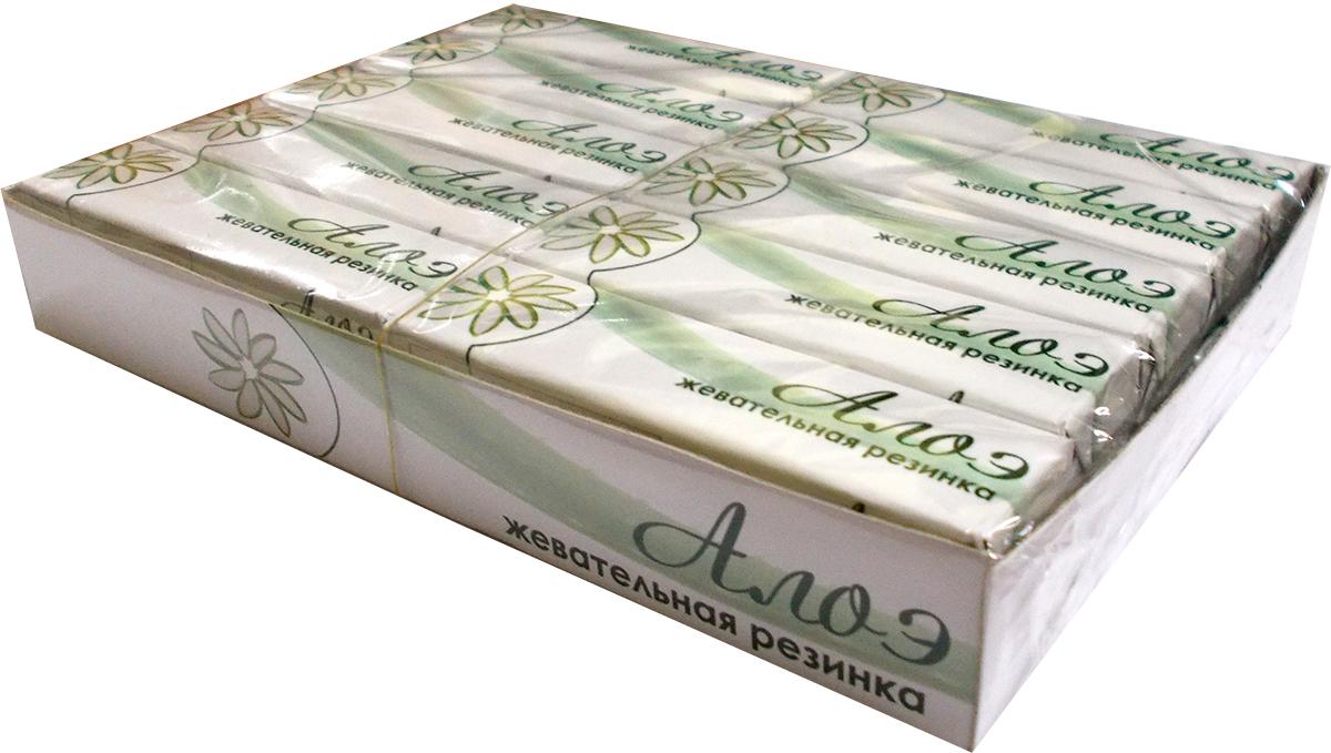 Plastinki жевательная резинка Алоэ, 20 пачек по 5 шт