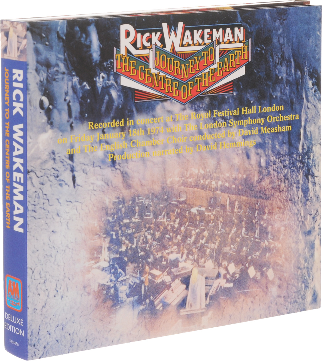 Рик Уэйкман Rick Wakeman. Journey To The Centre Of The Eart. Deluxe Edition (CD + DVD) джеймс блант james blunt all the lost souls deluxe edition cd dvd