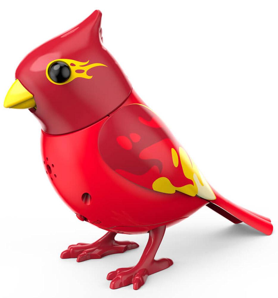 DigiFriends Интерактивная игрушка Птичка с кольцом цвет красный желтый
