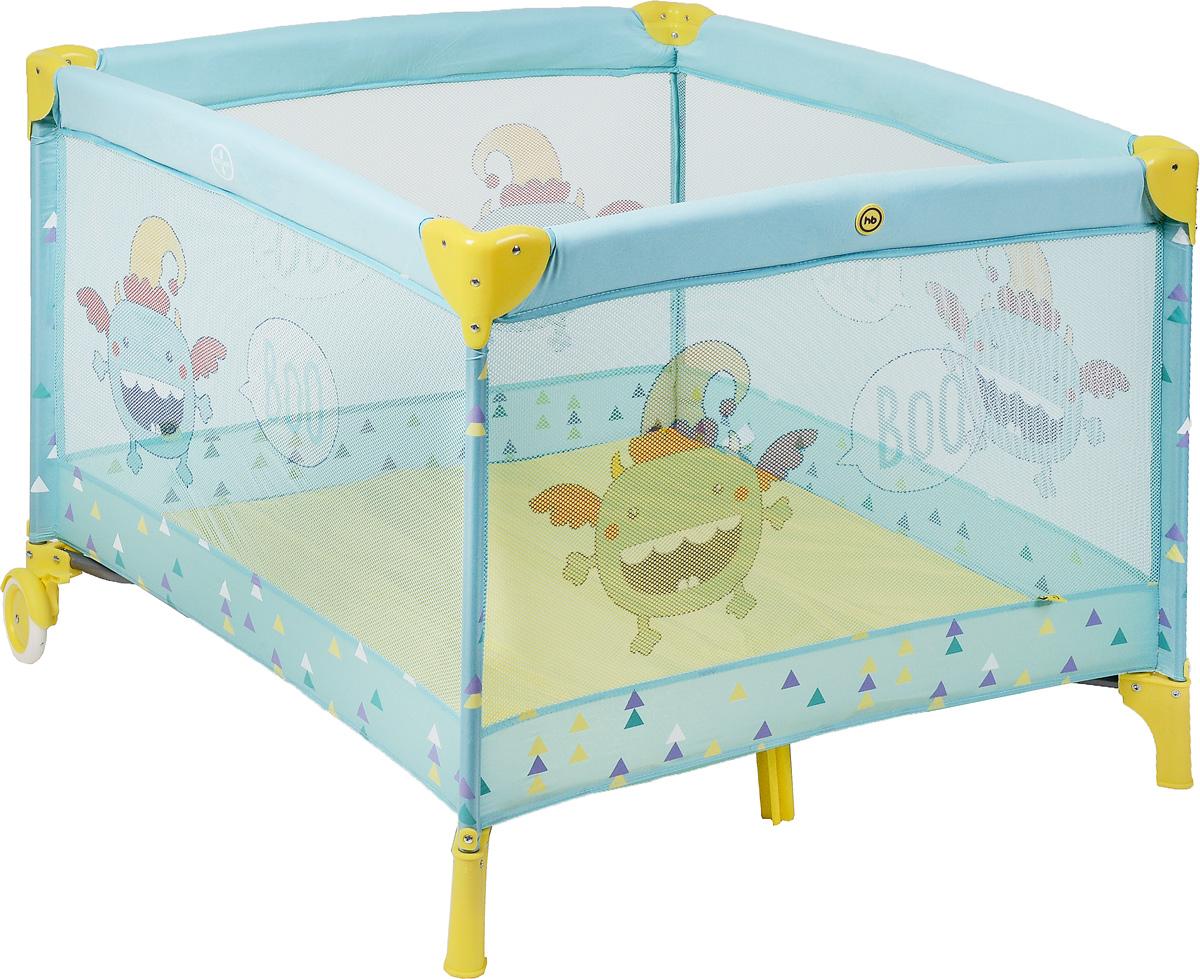 Happy Baby Манеж Alex цвет голубой