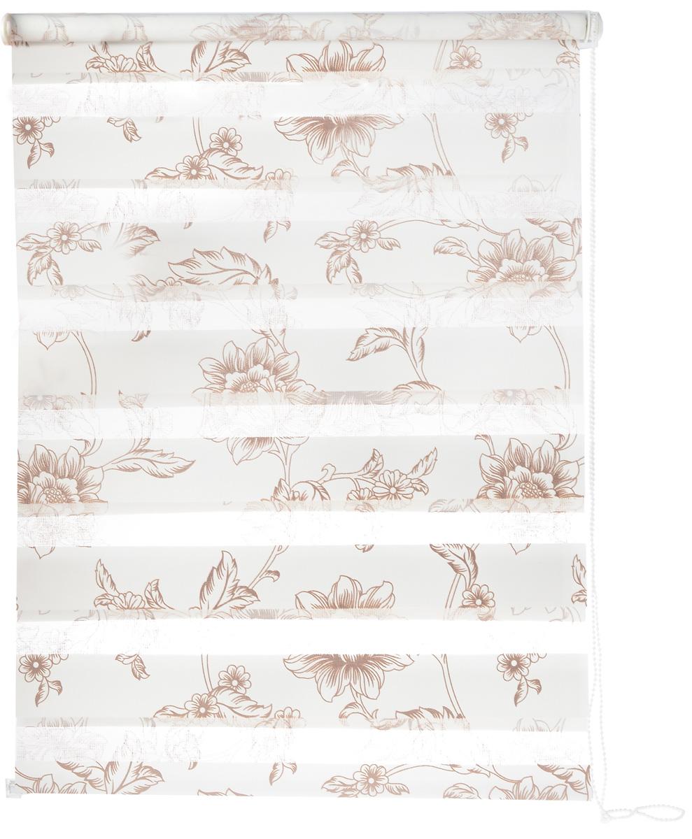 Штора рулонная Dr. Deco Полосы, день-ночь, с креплением на раму, цвет: белый, молочный, 68 х 160 см112825Штора рулонная Dr. Deco Полосы изготовлена из высокопрочной плотной ткани с прозрачными полосками. Ткань не выцветает, обладаетотличной цветоустойчивостью и сохраняет свой размер даже при намокании. Штора рулонная Dr. Deco Полосы закрывает не весь оконный проем, а непосредственно само стекло. Крепление универсальное, штора крепится либо скобами на раму, либо на крепление с двусторонним скотчем. Штора рулонная Dr. Deco Полосы - это отличное решение для тех, кто не хочет утяжелять помещение тканевыми шторами. Она не толькооткрывает пространство, но и легко регулирует подачу света в помещении, сдвигая полоски относительно друг друга. Происходит это с помощьюшнура-цепочки. В комплект входит:- 2 крепления, - 2 самореза, - 2 дюбеля, - шнур-цепочка, - штора.