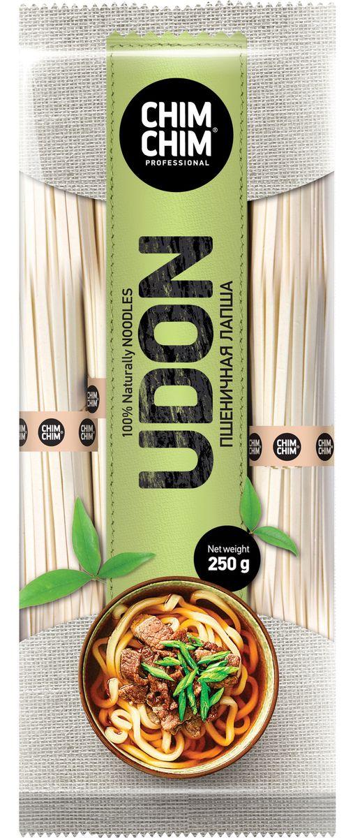 Чим-Чим Udon лапша пшеничная, 250 г0120710Яркая и таинственная азиатская кухня становится доступна, как никогда ранее!Удон - популярная японская лапша из пшеничной муки, предназначенная для супов и жареных блюд. Чим-Чим - это готовые решения для самых популярных азиатских блюд, которые превращают процесс приготовления в легкое и приятное занятие.