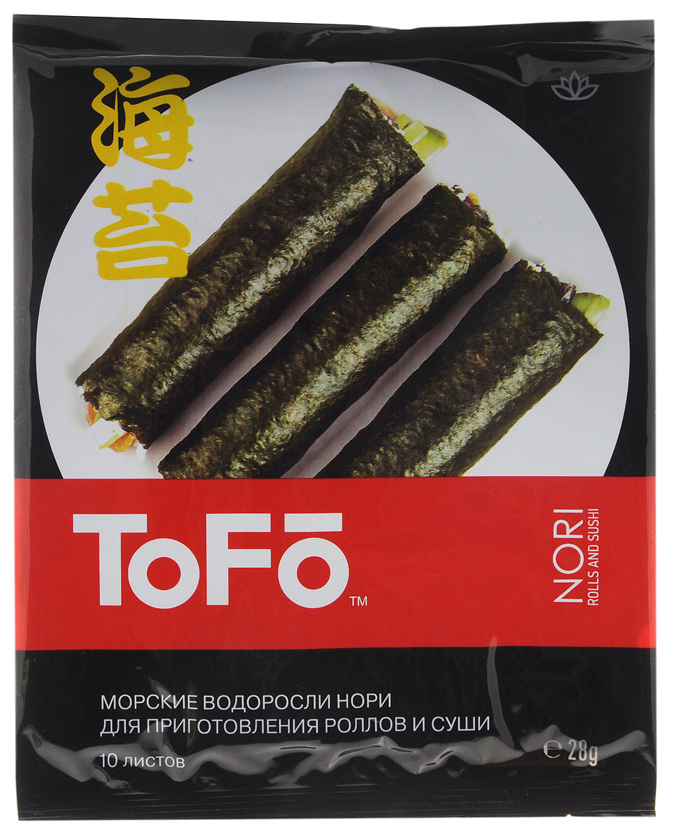 SanBonsai Nori Classic морские водоросли для роллов и суши, 28 г (10 листов)0120710Морские водоросли SanBonsai Nori Classic для роллов и суши.Данный продукт изготовлен из измельченных, а затем высушенных на сетке водорослей, без каких-либо добавок. Листы нори используются для приготовления суши, роллов, гунканов, а также как ингредиент для азиатских первых и вторых блюд.Морские водоросли нори содержат йод, растительный протеин, витамины и минералы. При регулярном употреблении в пищу замечено значительное снижение уровня холестерина в крови, что говорит о небольшой вероятности заболеть атеросклерозом. Наблюдения ученых показали, что водоросли обладают антираковыми свойствами, а также содействуют восстановлению иммунной системы.Польза водоросли нори заключается не только в способности выводить радиоактивные вещества и токсичные металлы из организма, но и укреплять сердечнососудистую систему. При заболеваниях щитовидной железы и варикозе эти водоросли оказывают эффективную помощь, если добавить их в свой ежедневный рацион.