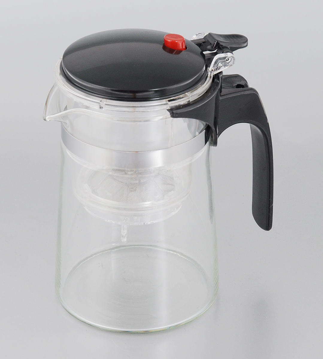 Чайник заварочный Mayer & Boch, 500 мл. 4026115510Заварочный чайник Mayer & Boch выполнен из прочного пластика и высококачественного стекла. Засыпая чайную заварку в фильтр-сетку из нержавеющей стали и заливая ее горячей водой, вы получаете ароматный чай с оптимальной крепостью и насыщенностью. Остановить процесс заварки чая легко. Просто нажмите на кнопку, и напиток уйдет вниз, а чайные листья останутся в фильтре. Удобный и практичный заварочный чайник пригодится на любой кухне.
