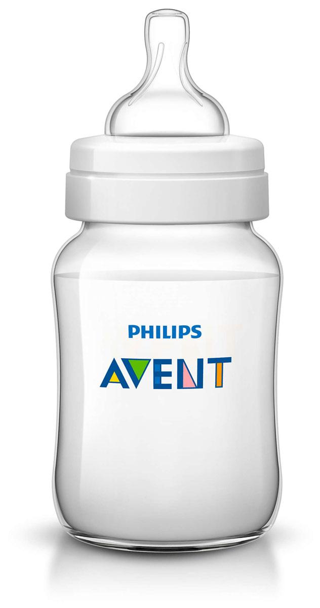 Philips Avent Бутылочка для кормления Classic от 1 месяца 260 мл SCF563/17 бутылочка для кормления avent scf563 17 1шт 260 мл полипропилен