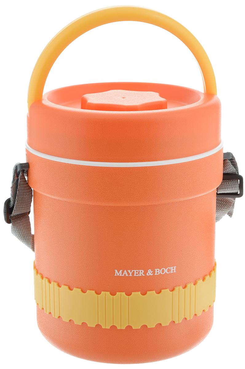 Термос пищевой Mayer & Boch, с 3 контейнерами, 2,4 л кружка термос mayer
