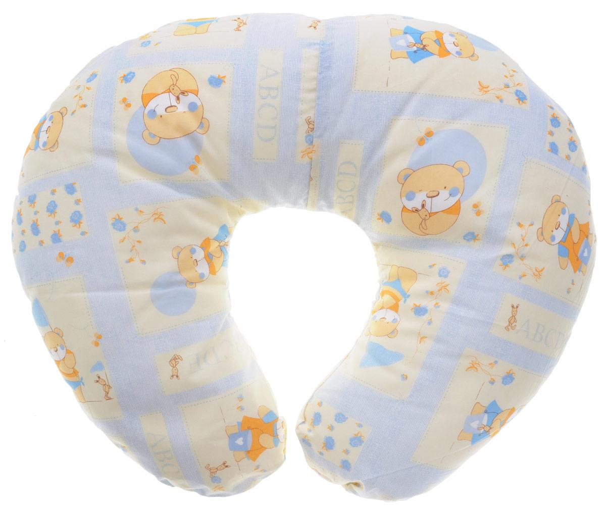 Plantex Подушка для кормящих и беременных мам Comfy Small Мишка цвет голубойS03301004Многофункциональная подушка Plantex Comfy Small. Мишка идеальна для удобства ребенка и его родителей.Зачастую именно эта модель называется подушкой для беременных. Ведь она создана именно для будущих мам с учетом всех анатомических особенностей в этот период. На любом сроке беременности она бережно поддержит растущий животик и поможет сохранить комфортное и безопасное положение во время сна. Также подушка идеально подходит для кормления уже появившегося малыша. Позже многофункциональная подушка поможет ему сохранить равновесие при первых попытках сесть.Чехол подушки выполнен из 100% хлопка и снабжен застежкой-молнией, что позволяет без труда снять и постирать его. Наполнителем подушки служат полистироловые шарики - экологичные, не деформируются сами и хорошо сохраняют форму подушки.Подушка для кормящих и беременных мам Plantex Comfy Small. Мишка - это удобная и практичная вещь, которая прослужит вам долгое время.Подушка поставляется в сумке-чехле.При использовании рекомендуется следующий уход: наволочка - машинная стирка и глажение, подушка с наполнителем - ручная стирка.