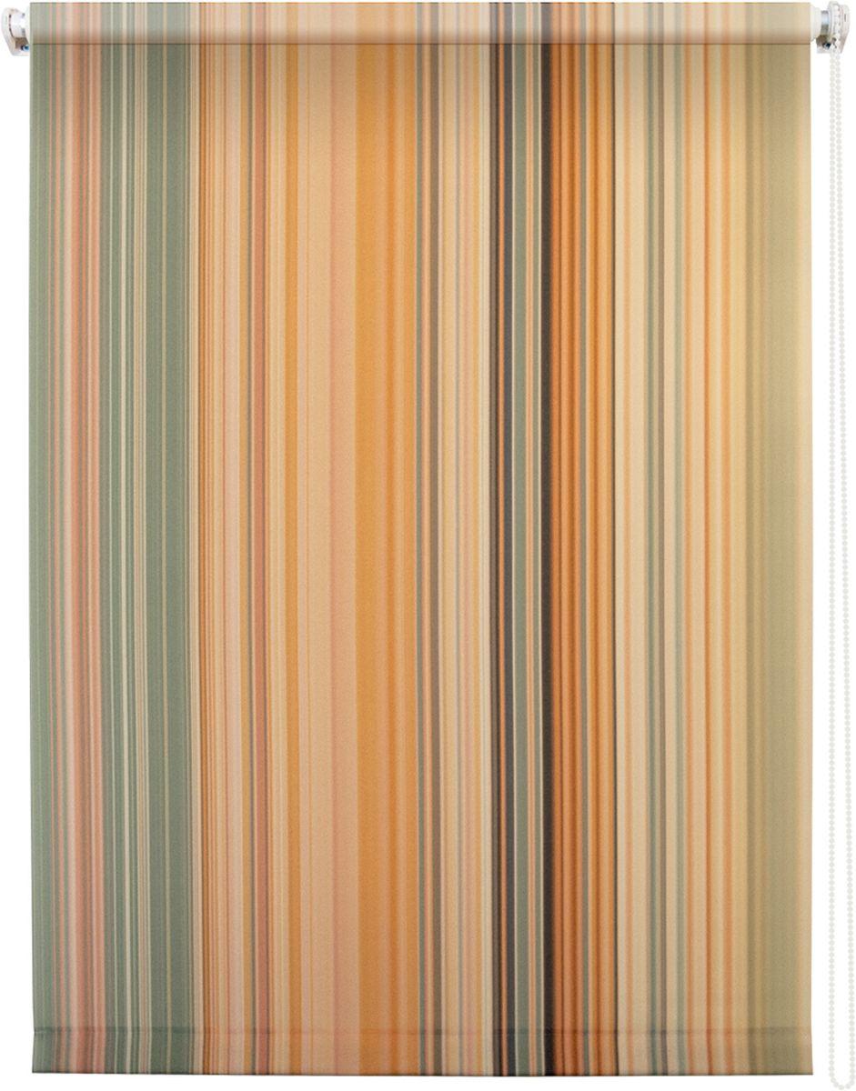 Штора рулонная Уют Спектр, 40 х 175 см62.РШТО.8981.040х175Штора рулонная Уют Спектр выполнена из прочного полиэстера с обработкой специальным составом, отталкивающим пыль. Ткань не выцветает, обладает отличной цветоустойчивостью и хорошей светонепроницаемостью. Изделие оформлено принтом в мелкую вертикальную полоску, отлично подойдет для спальни, гостиной, кухни или кабинета. Штора закрывает не весь оконный проем, а непосредственно само стекло и может фиксироваться в любом положении. Она быстро убирается и надежно защищает от посторонних взглядов. Компактность помогает сэкономить пространство. Универсальная конструкция позволяет крепить штору на раму без сверления, также можно монтировать на стену, потолок, створки, в проем, ниши, на деревянные или пластиковые рамы. В комплект входят регулируемые установочные кронштейны и набор для боковой фиксации шторы. Возможна установка с управлением цепочкой как справа, так и слева. Изделие при желании можно самостоятельно уменьшить. Такая штора станет прекрасным элементом декора окна и гармонично впишется в интерьер любого помещения.