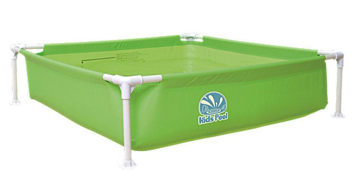 Бассейн каркасный Jilong Kids Frame Pool, цвет: зеленый, 122 х 122 x 33 смJL017256NPFV01_зеленыйБассейн каркасный детский квадратный Jilong Kids Frame Pool - для использования на даче и природе.Характеристики: - Прочная стальная рама с пластиковыми угловыми соединениями- Рама в комплекте- Легкая сборка- Очень прочный 3-х слойный материал- Легко складывается- Компактно упаковывается- В сложенном состоянии не занимает много места- Самоклеящаяся заплатка в комплектеКомпания JILONG это широкий выбор продукции высокого качества и отличный выбор для отдыха на природе.