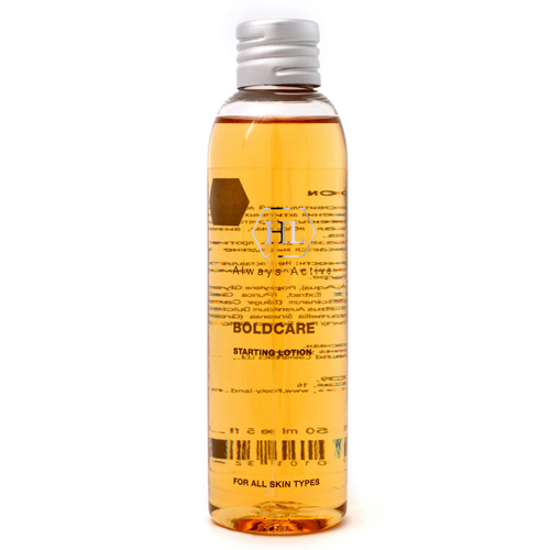 Holy Land Лосьон Boldcarе Starting Lotion 150 млFS-00897Специальный лосьон для обеспечения более глубокого проникновения активных ингредиентов. Дополнительно выравнивает и подтягивает кожу, уменьшает отечность. Активные компоненты: Смесь фруктовых кислот (молочная, гликолевая, лимонная, маликовая, тартаровая), экстракт зеленого чая, экстракт граната, аскорбиновая кислота (витамин С), ретинол.