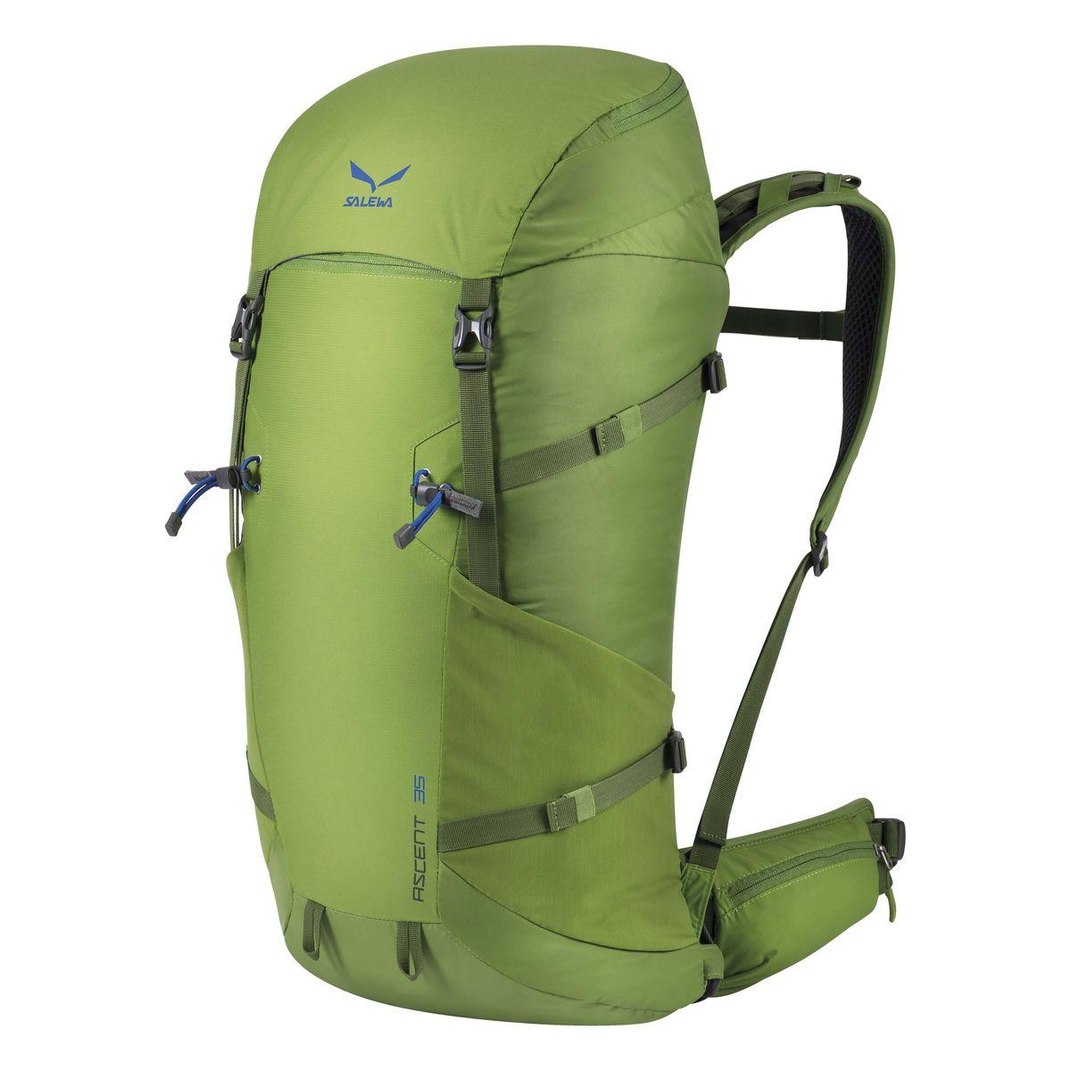 Рюкзак туристический Salewa Ascent 35, цвет: светло-зеленый, 35 л1138_5450Новая современная модель рюкзака Salewa Ascent 35, которая прекрасно подойдет как для однодневных так и для более длительных путешествий.Особенности:- петли для крепления ледоруба / лыжных палок- внутреннее отделение для хранения ценных вещей- боковые карманы- карман в набедренном поясе- петли для навески дополнительного снаряжения на набедренном поясе- подвесная система motionfit