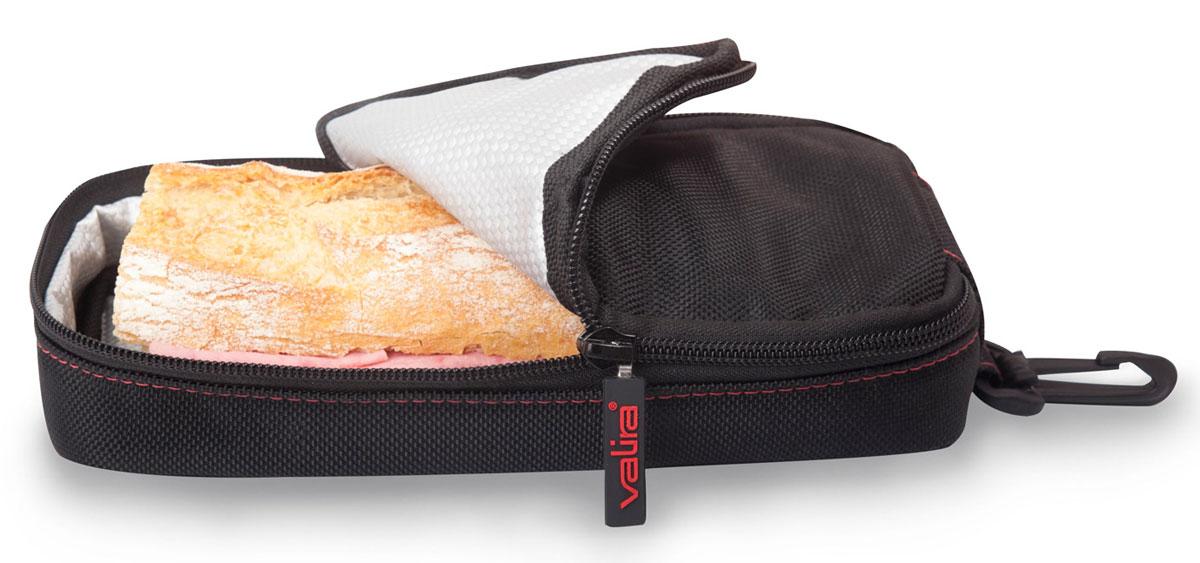 Бутербродница Valira508567Удобная и компактная детская бутербродница с привлекательным дизайном. Замечательно подойдет для школьных завтраков, поездок и путешествий. В ней можно хранить бутерброды и закуски. Бутербродница изготовлена из гигиеничного материала с термо прослойкой. Выдерживает горячую пищу. Имеет компактный размер и легко помещается в любую сумку. Подходит как для мальчиков, так и для девочек. Не предназначена для использования в СВЧ и посудомоечной машине.