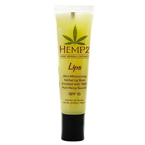 Hempz Бальзам для губ SPF Lip Balm SPF 15 14,5 г1001394005Бальзам для губ Lip Balm SPF 15 позволяет сохранить кожу губ мягкой и нежной в любых погодных условиях. Уникальная формула бальзама, с содержанием масла жожоба, витамина E и экстрагированных компонентов семян конопли, оберегает губы от негативных внешних воздействий и жесткого ультрафиолетового излучения. Бальзам мягко тонизирует и увлажняет, обладает заживляющим эффектом. Состав активных компонентов: очищенное конопляное масло, витамин Е, масло жожоба, октил метоксициннамат, оксибензон.