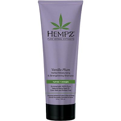 Hempz Шампунь растительный Ваниль и Слива средней степени увлажнения для ослабленных волос Vanilla Plum Herbal Shampoo 265 млCF5512F4Шампунь растительный увлажняющий и укрепляющий «Ваниль и Слива», 265мл Растительный увлажняющий и укрепляющий шампунь средней степени увлажнения для ослабленных окрашенных волос. Подходит для частого использования. Без сульфатов - для максимального сохранения цвета окрашенных волос. Без парабенов и глютенов. 100% Веган.