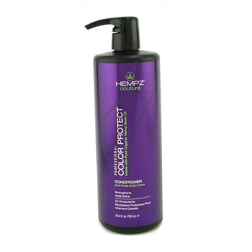 Hempz Шампунь защита цвета окрашенных волос Color Protect Shampoo 750 мл116392Шампунь для защиты цвета окрашенных волос Color Protect Shampoo не содержит сульфатов, обладает мягким и глубоким очищающим действием, на длительное время сохраняет и поддерживает цвет волос в первозданном виде, оберегает их от термического воздействия потоков горячего воздуха и солнечного излучения. Активно предотвращает вымывание цвета, блокирует действие жестких компонентов воды.Color Protect Shampoo не содержит глютенов и парабенов и на 100% состоит из натуральных растительных компонентов. Состав активных компонентов: аминокислоты, масло, протеины, смола и экстракт семян конопли, пантенол, масло подсолнечника, цитрусовая кислота, минеральные соли.