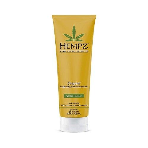 Hempz Гель для душа Оригинальный Original Body Wash 250 млFS-54102Формула на основе 100% натурального масла семян конопли для мягкого очищения, увлажнения и мягкости кожи. Содержит витамины А, С и Е для защиты от внешнего негативного воздействия. Масло Ши для питания и интенсивного увлажнения кожи.