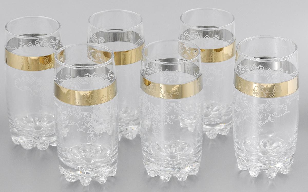 Набор стаканов для коктейлей Мусатов Бьюти, 390 мл, 6 штVT-1520(SR)Набор стаканов для коктейлей Мусатов Бьюти изготовлен из натрий-кальций-силикатного стекла. Набор состоит из 6 стаканов, выполненных в элегантном дизайне. Такие стаканы украсят любой праздничный стол.Набор стаканов для коктейлей может стать отличным подарком к любому празднику. Можно мыть в посудомоечной машине.Диаметр стакана по верхнему краю: 6 см.Высота стакана: 14,5 см.
