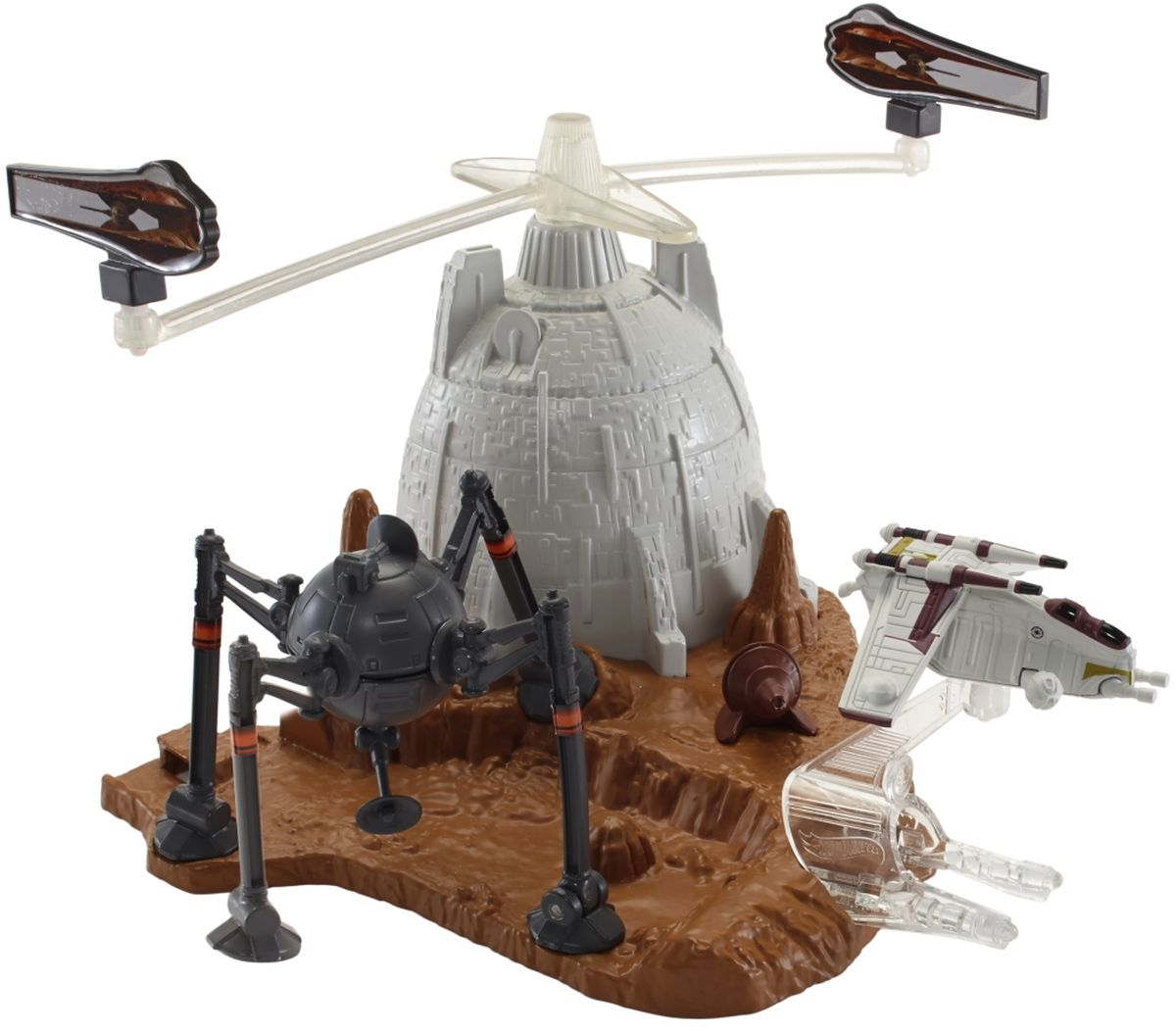 Hot Wheels Star Wars Игровой набор Battle of Geonosis