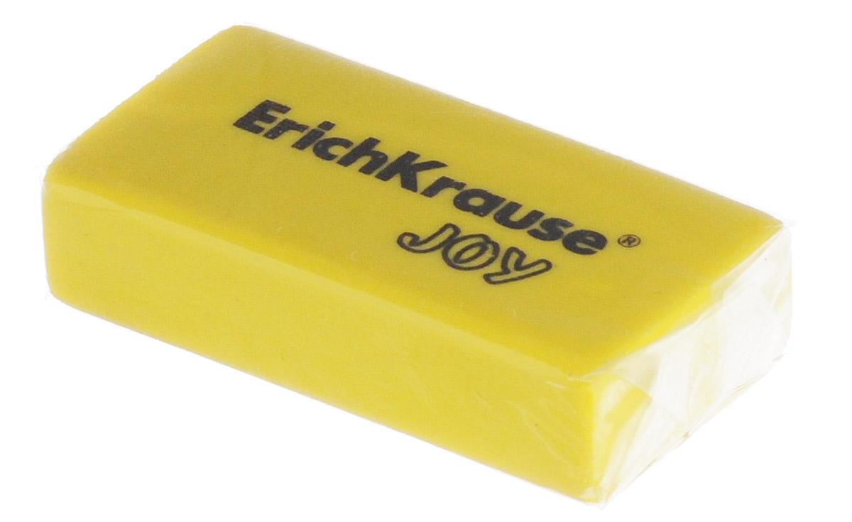 Erich Krause Ластик Joy цвет желтый183525Ластик Erich Krause Joy станет незаменимым аксессуаром на рабочем столе не только школьника или студента, но и офисного работника.Ластик яркого цвета имеет форму прямоугольника. При стирании стружка от ластика скатывается в единый комок, а не рассыпается по всей поверхности бумаги.