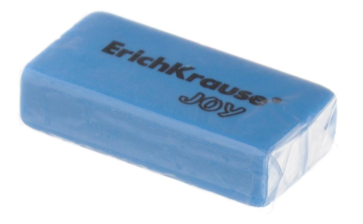 Erich Krause Ластик Joy цвет голубой183527Ластик Erich Krause Joy станет незаменимым аксессуаром на рабочем столе не только школьника или студента, но и офисного работника.Ластик яркого цвета имеет форму прямоугольника. При стирании стружка от ластика скатывается в единый комок, а не рассыпается по всей поверхности бумаги.