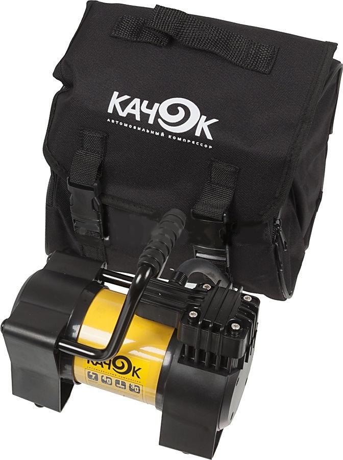 Автомобильный компрессор Качок К90NPRO-24Автомобильный компрессор КАЧОК К90N обеспечивает прокачивание 40 л воздуха за минуту при максимальном давлении 10 атмосфер. Помимо своей первоочередной задачи обслуживания автомобиля, данное устройство способно принести очевидную пользу на даче, рыбалке и во время домашнего ремонта. КАЧОК К90N не только поможет накачать матрац, бассейн или футбольный мяч, но и обеспечит полив приусадебного участка пи помощи специальной насадки, а подключение различных инструментов превратит компрессор в пневмоножницы, шуруповерт либо пневмопилу.