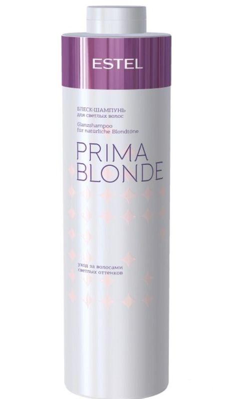 Estel Блеск-шампунь для светлых волос Prima Blonde 1000 млFS-00897Блеск-шампунь мягко очищает волосы и подчеркивает красоту светлых оттенков. Волосы натуральные или окрашенные? Блеск-шампунь сглаживает различия: волосы оттенка блонд, независимо от того, были они окрашены или нет, наполняются здоровым солнечным сиянием! Система Nаturаl Peаrl с пантенолом и кератином заботится о волосах, способствуя восстановлению их структуры и наделяя мягкостью. Результат: Кератин – придает волосам здоровый и ухоженный вид, насыщает блеском Пантенол – восстанавливает и увлажняет волосы.