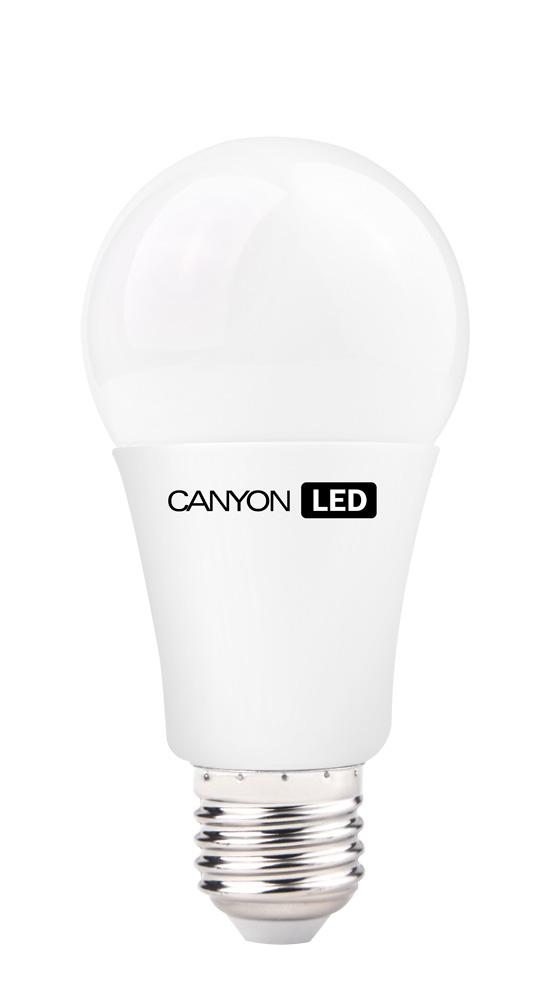 Лампа светодиодная Canyon, цоколь Е27, 12W, 2700КAE27FR12W230VWЛампочка традиционной формы Canyon излучает мягкий рассеянный свет. Имеет уникальный LED модуль Cob Ice Canyon, позволяющий избежать чрезмерного нагревания. Предназначена для установки в светильниках с патроном E27. Чрезвычайно низкое энергопотребление позволяет сэкономить до 90% энергии в сравнении с традиционными лампами накаливания.