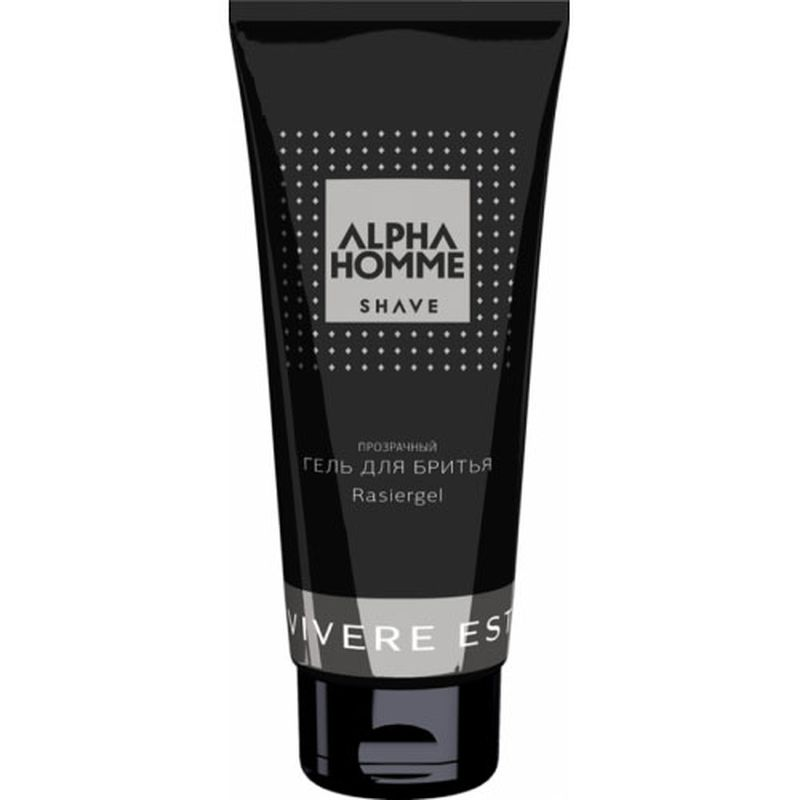 Estel Гель для Бритья Alpha Homme 100 млBRE610/00Прозрачный гель позволяет видеть зону бритья. Обеспечивает гладкое бритье, восстанавливая естественный баланс увлажнения кожи, нейтрализует раздражение. Делает бритье исключительно легким даже для самой чувствительной кожи. Не вспенивается. Оказывает кератолитическое действие, защищая от врастания волос.
