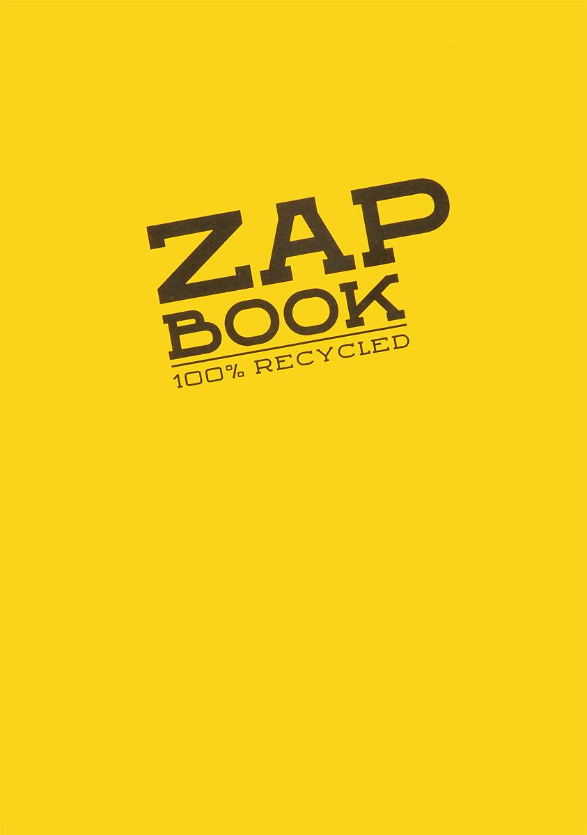 Блокнот для набросков Clairefontaine Zap Book, цвет: желтый, 160 листов0703415Блокнот для набросков Clairefontaine Zap Book, сшитый на склейку по длинной стороне, содержит 160 листов, выполненных из переработанной бело-серой бумаги. Листы не разлинованы. Обложка выполнена из картона. Блокнот идеален для рисования и письма, также подойдет для эскизов и набросков.