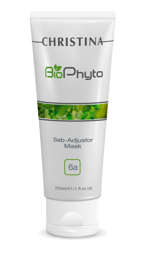 Christina Себорегулирующая маска Bio Phyto Seb-Adjustor Mask 250 млCHR572Очищает кожу, абсорбируя излишки себума, сужает поры, обладает кератолитическим и противовоспалительным действием.Активные компоненты: Деионизированная вода, каолин, оксид цинка, этиловый спирт, глицерин, диоксид титана, сера, камфора, аллантоин, витамины группы В, экстракт лиственничного трутовика, гидрогенизированный протеин дрожжей, салициловая кислота, триклозан. Результат: Способствует снижению секреции кожного себума.