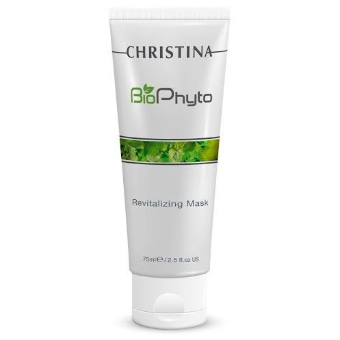 Christina Восстанавливающая маска Bio Phyto Revitalizing Mask 75 млFS-00897Совершенная формула с противогликационными свойствами для повышения энергии клеток. Повышает тонус и улучшает текстуру кожи. Восстанавливает ее жизнеспособность. Кожа выглядит увлажненной, гладкой и сияющей. Активные компоненты: BioTech Algae Complex, экстракт продизии, комплекс витаминов группы B. Результат: Увлажняет кожу лица, придает ей здоровое сияние.