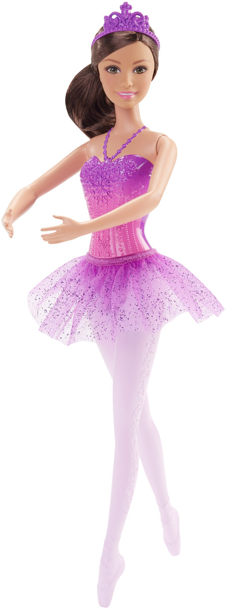 Barbie Кукла Балерина цвет юбки фиолетовый shakira dance diamonds туалетная вода женская 30 мл