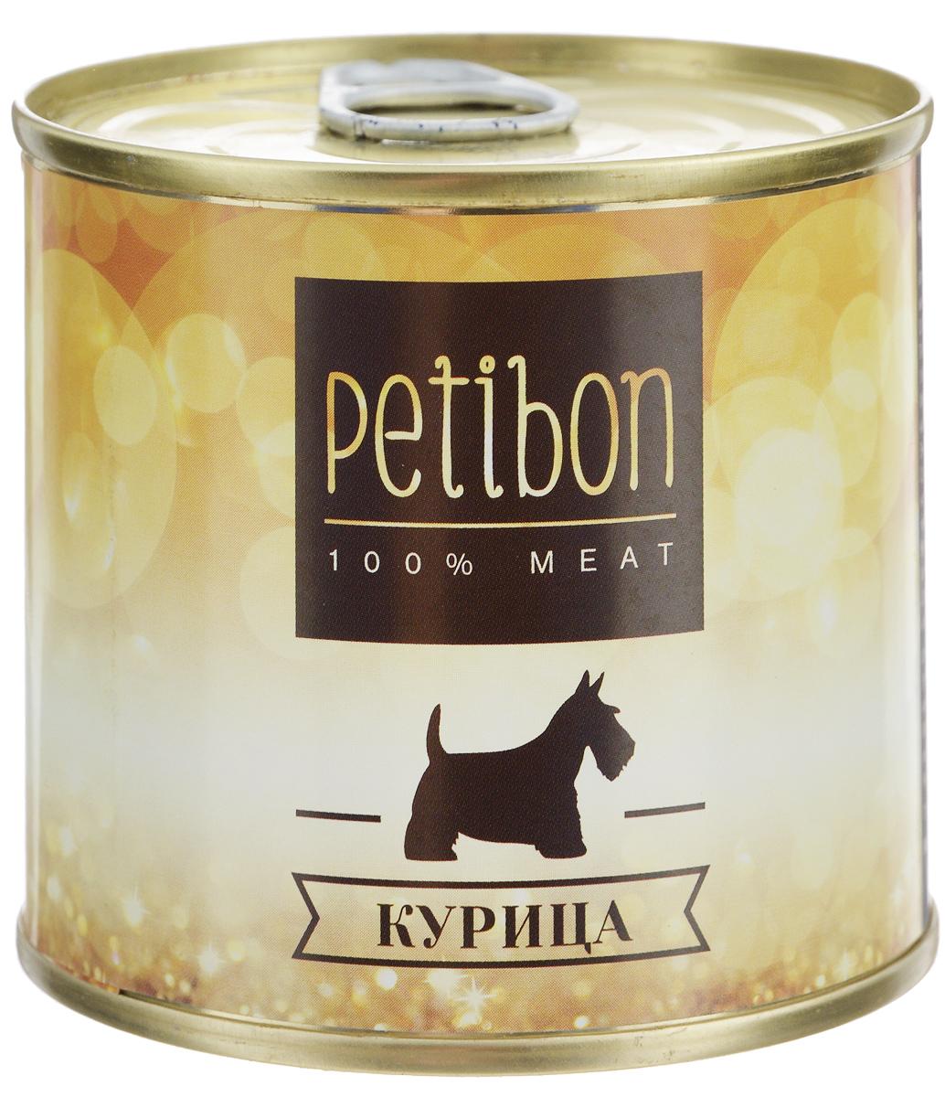 Консервы для собак Petibon, с курицей, 240 г43352_новый дизайнPetibon - влажный мясной корм для собак. Использование монобелкового комплексного сырья значительно расширяет аминокислотный состав продукта. Использование корма рекомендовано для собак, нуждающихся в диете или определённом виде мяса.Товар сертифицирован.
