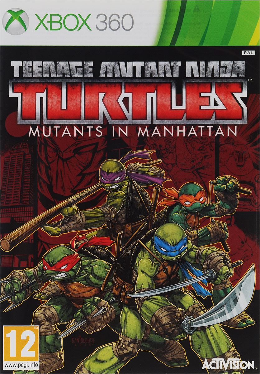 Teenage Mutant Ninja Turtles Mutants in Manhattan (Xbox 360)
