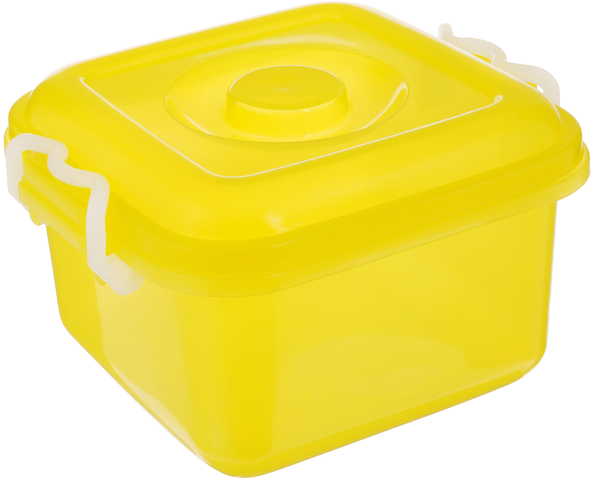 Контейнер для хранения Idea Океаник, цвет: желтый, 6 л1004900000360Контейнер Idea Океаник, выполненный из высококачественного пищевого полипропилена, предназначен для хранения различных вещей. Он снабжен плотно закрывающейся крышкой со специальными боковыми фиксаторами.Вместительный контейнер позволит сохранить ваши вещи в порядке, а герметичная крышка предотвратит случайное открывание, а также защитит содержимое от пыли и грязи.