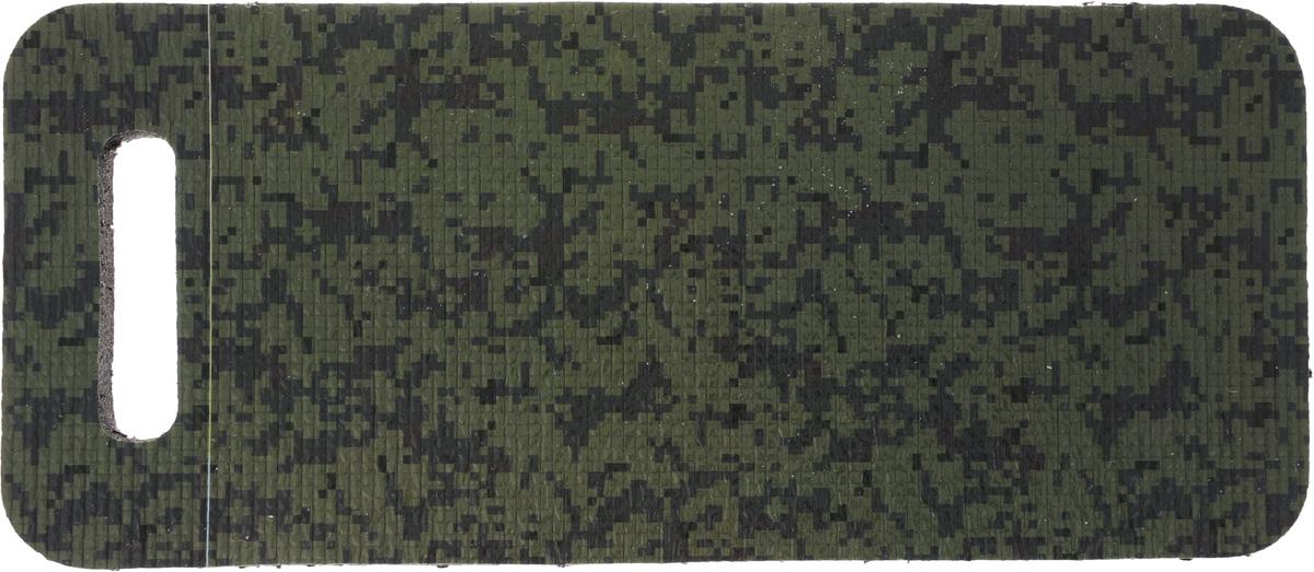 Коврик для садовых работ Eva, цвет: зеленый, 42 х 18,5 х 1,5 смК014_зеленыйМягкий дачный коврик для сидения Eva, изготовленный из пенополиэтилена, имеет небольшие размеры. Он обеспечит вам удобство и чистоту одежды. Такой коврик обладает закрытой пористой структурой, за счет чего он характеризуется небольшим весом, низкой теплопроводностью, хорошими водоотталкивающими свойствами и прочностью. Поэтому он наилучшим образом приспособлен для сидения на сырой и холодной земле (под открытым небом, в палатке или спальнике). Изделие оснащено удобной ручкой для переноски.