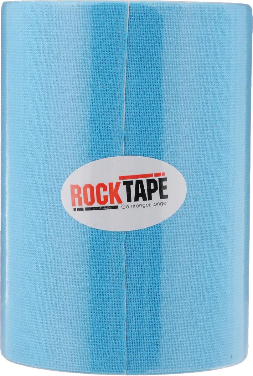 Кинезиотейп Rocktape Big Daddy, цвет: голубой, 10 x 500 смSF 0085Кинезиотейп Rocktape Big Daddy предназначен для снятия отеков и рассасывания гематом. Уменьшает мышечную усталость и способствует притоку крови для более быстрого восстановления. Не содержит латекса и цинка. 180% эластичности.