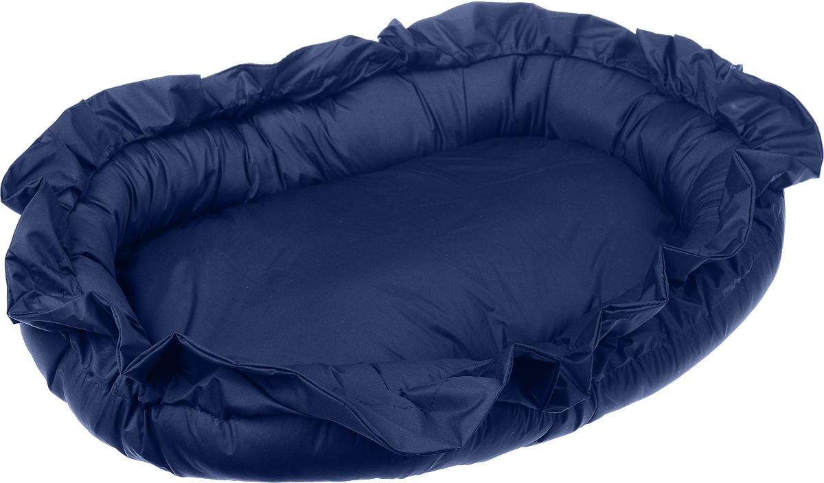 Лежак для животных ЗооМарк Самобранка, цвет: синий, 74 х 55 х 10 см0120710Лежак Зоомарк Самобранка, выполненный из текстиля, обязательно понравится вашему питомцу. Лежак очень удобный и уютный, он оснащен бортиками. Ваш любимец сразу же захочет забраться на лежак, там он сможет отдохнуть и подремать в свое удовольствие. Компактные размеры позволят поместить лежак, где угодно, а приятная цветовая гамма сделает его оригинальным дополнением к любому интерьеру.Размер в разложенном виде - 74 х 55 х 10 см.