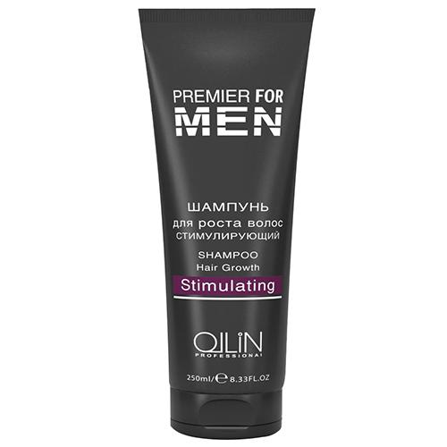 Ollin Шампунь для роста волос стимулирующий Premier For Men Shampoo Hair Growth Stimulating 250 мл80268Специальный шампунь для частого применения. Предотвращает выпадение волос и стимулирует их рост. Содержит специальные ухаживающие липиды, мягкий охлаждающий компонент ментил лактат, пентиленгликоль, прокапил, креатин C-100. Обладает освежающим эффектом. Улучшает гидробаланс.