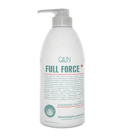 Ollin Увлажняющий шампунь против перхоти с экстрактом алоэ Full Force Anti-Dandruff Moisturizing Shampoo 750 мл051843976Anti-Dandruff Moisturizing Shampoo - шампунь увлажняющий против перхоти с экстрактом алоэ. Бережно очищает, препятствует образованию перхоти и нормализует гидролипидный баланс кожи головы. Обладает сильными тонизирующими и бактерицидными свойствами. Сильное увлажняющее действие шампуня обеспечивается сочетанием экстракта алоэ и налидона. Климбазол отвечает за регулирование работы сальных желез и решение проблемы перхоти.Без искусственных красителей, Без парабенов, Без SLES